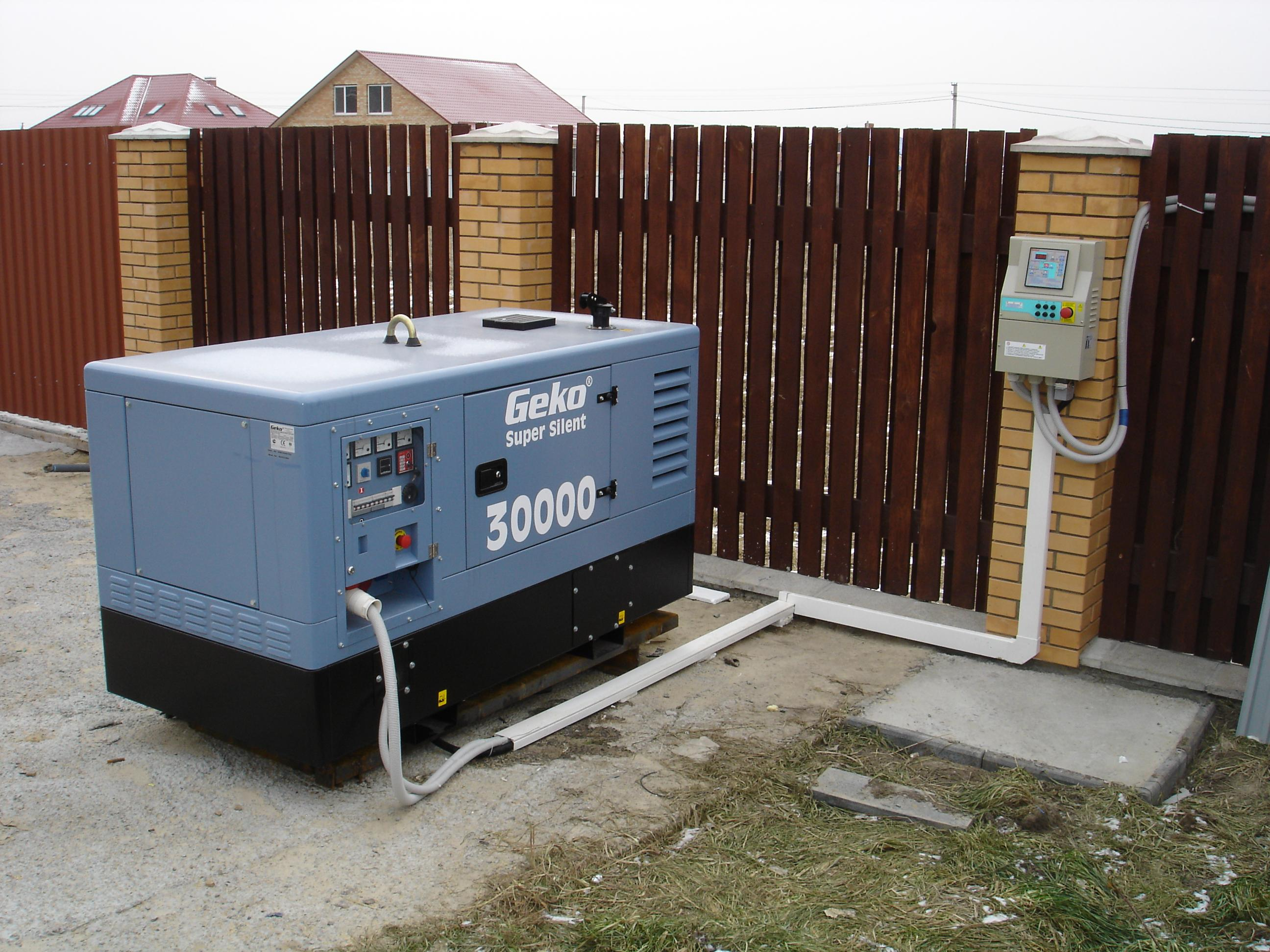 Дизельные электрогенераторы в Днепропетровске GEKO 30000