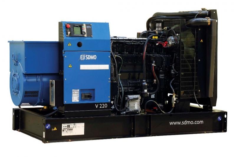 Трехфазные дизель-генераторы SDMO
