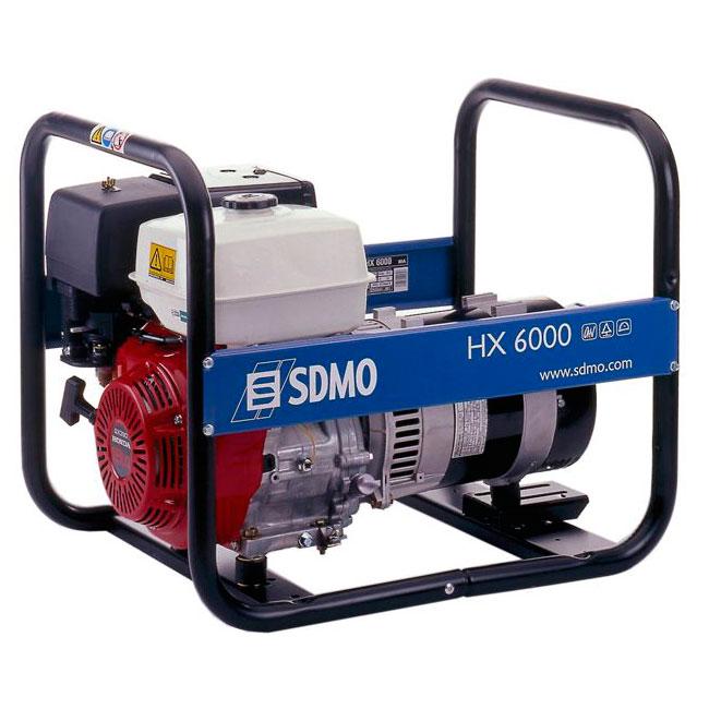 Однофазные портативные генераторы SDMO