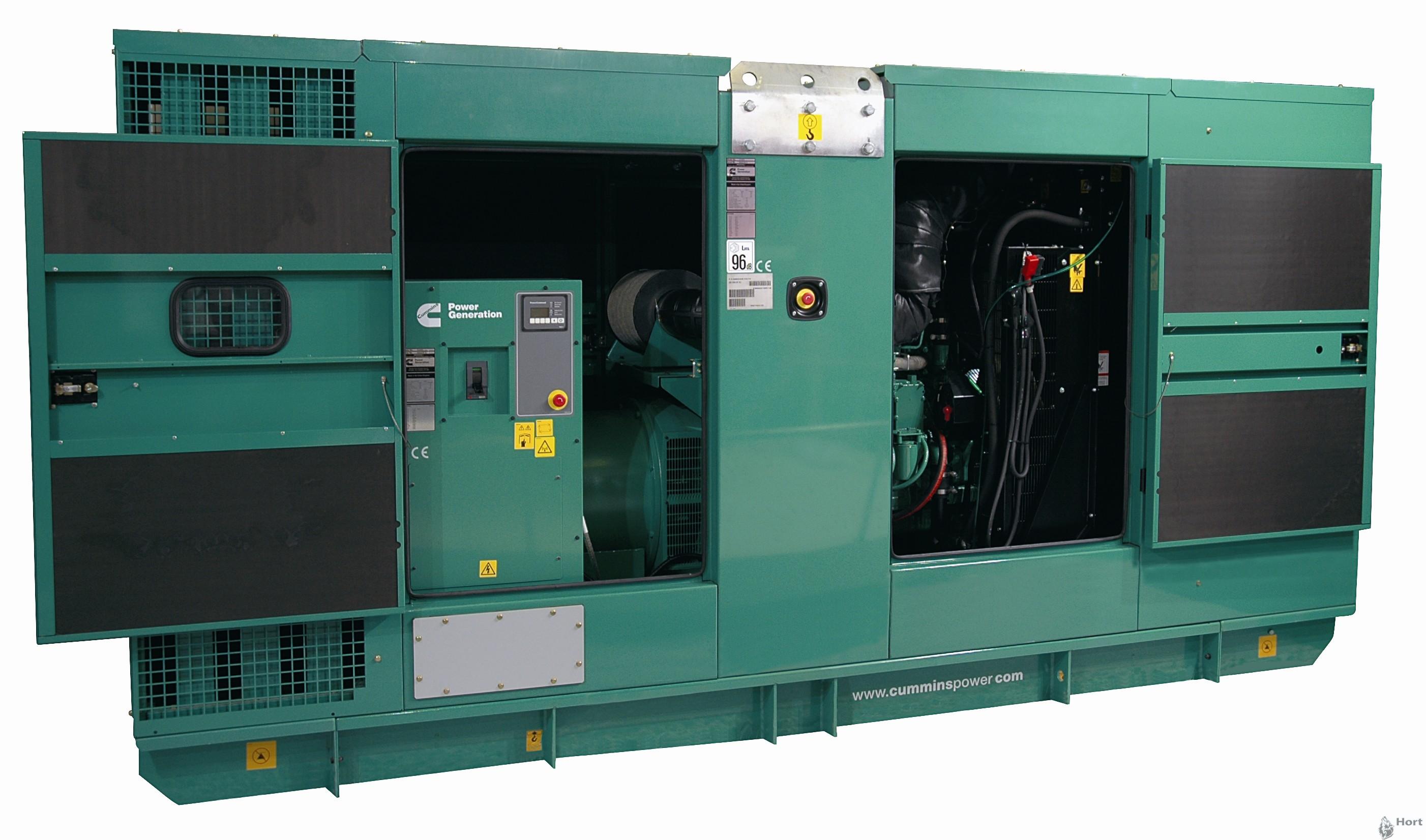 Прокат дизельного генератора Cummins C300D5 мощностью 220 кВт в Днепре