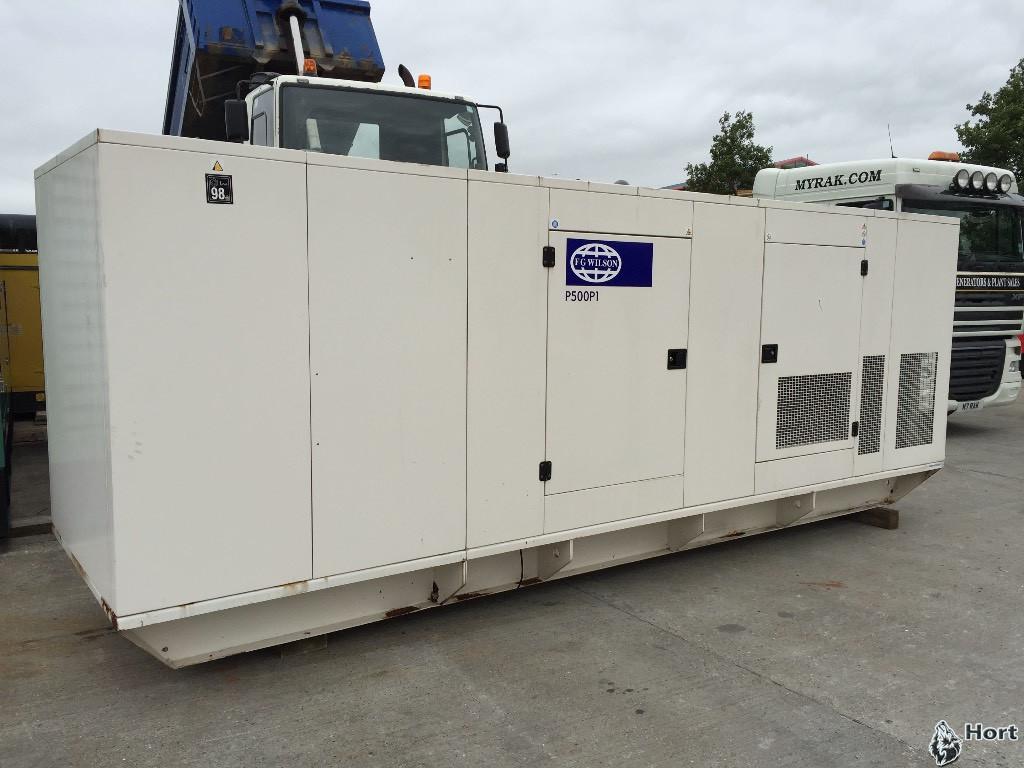 Прокат дизельного генератора FG WILSON P550E3