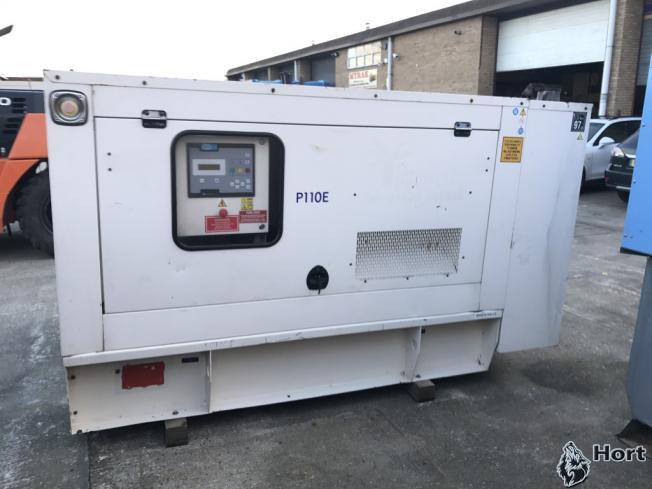 Прокат дизельного генератора FG Wilson P110E