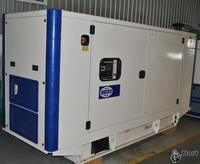 Прокат дизельного генератора FG Wilson P165-1