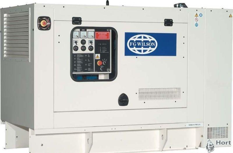 Прокат дизельного генератора FG Wilson XP40P3