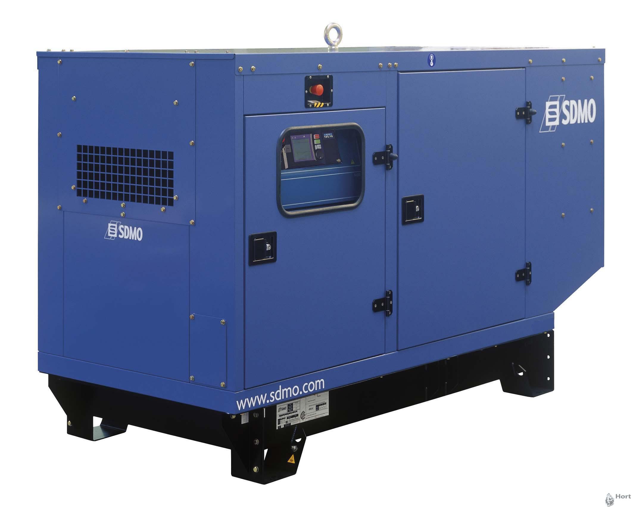 Аренда дизельного генератора SDMO J77K