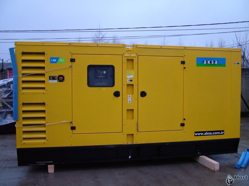 Прокат дизельного генератора AKSA AD 330
