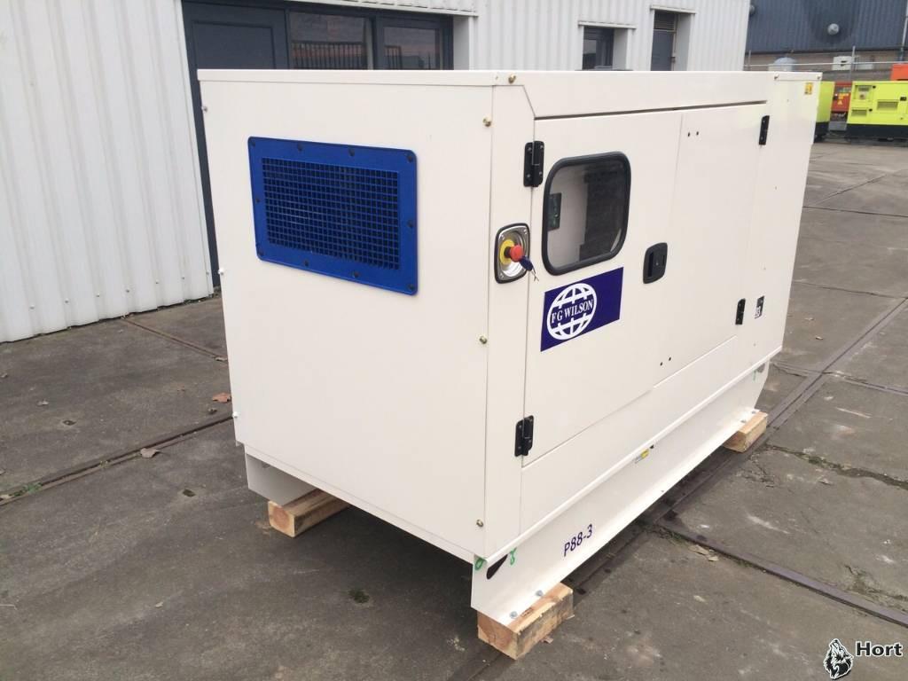 Прокат дизельного генератора FG Wilson P88-1