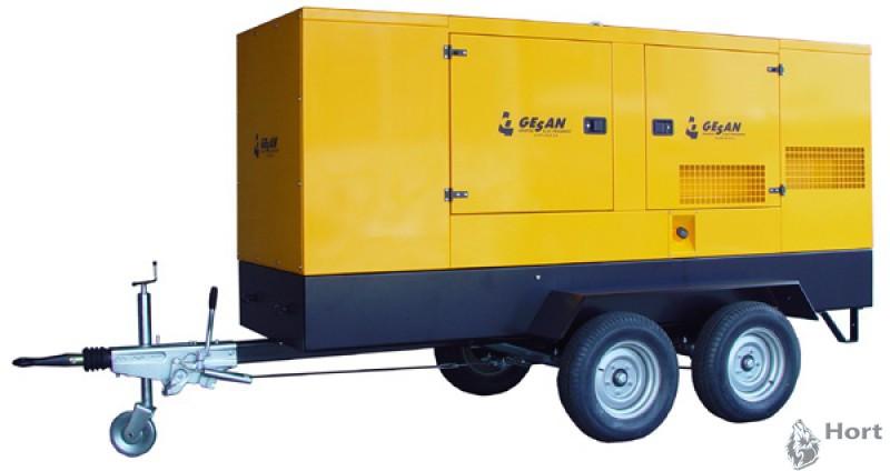 прокат дизельного генератора GESAN DVAS 330E
