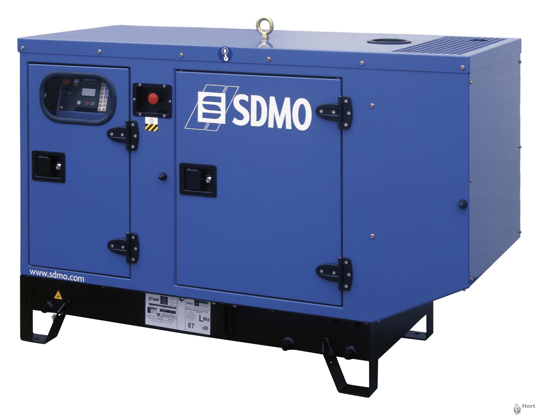 Прокат дизельного генератора SDMO JM30