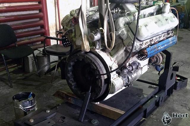 Капитальный ремонт дизельного генератора