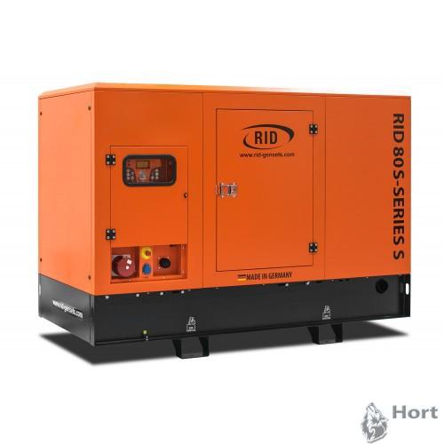 Купить дизельную генератор RID 80 S-SERIES