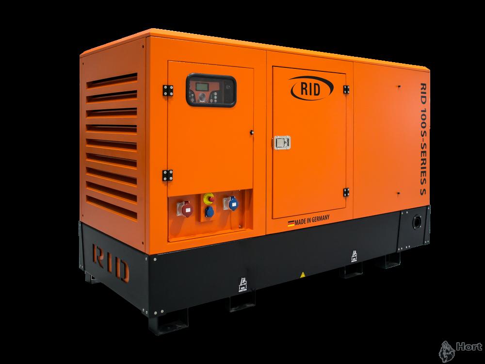 Купить дизельную электростанцию RID 100 S-SERIES