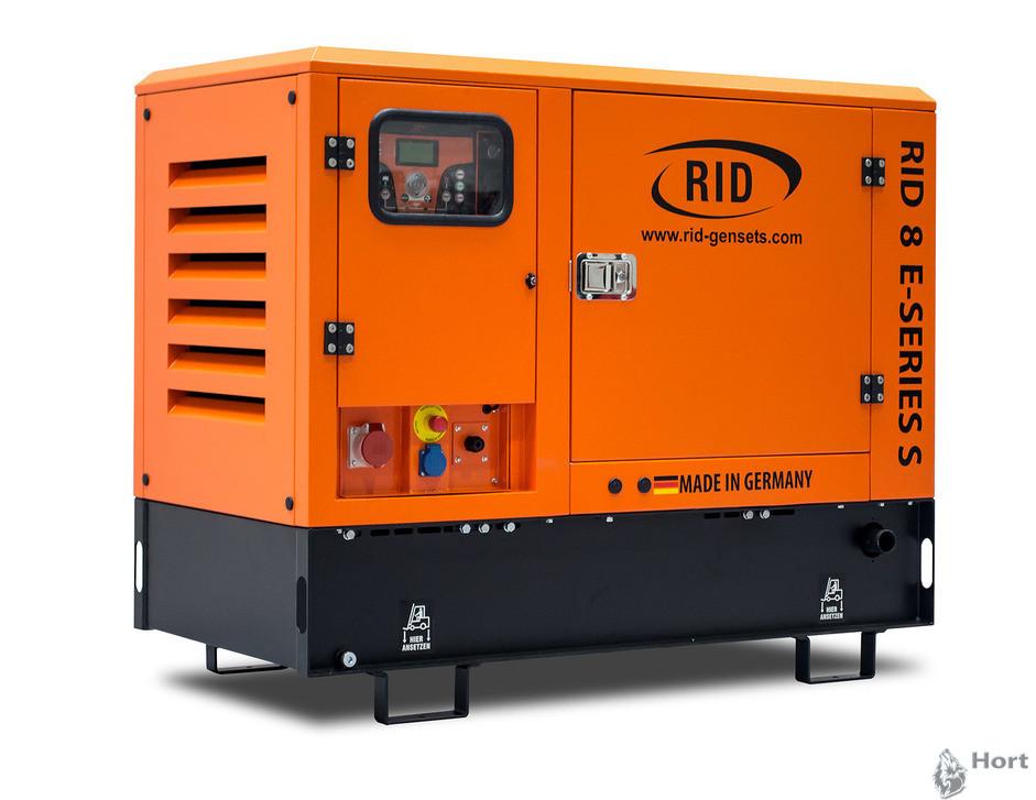 Купить дизельную электростанцию RID 8 E-SERIES