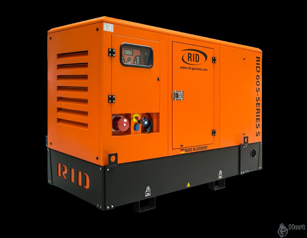 Купить дизельный генератор RID 60 S-SERIES