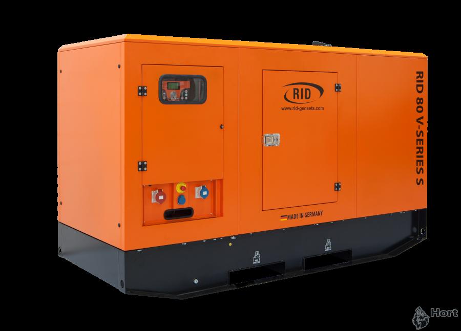 Купить дизельный генератор RID 80 V-SERIES